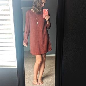 PrAna CeCe Long Sleeve Dress Small